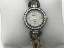 Armitron Now Ladies Watch Brown Gold Tone Analog Wrist Watch Japan Movt 3ATM