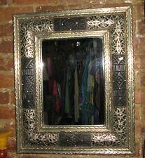 Moroccan Silver Mirror-Moroccan wall mirror-Silver Moroccan mirror-Mirror silver