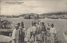 BRAZIL BAHIA OBRAS DO PORTO (CONSTRUCCAO DO CAES) ED. MELLO & FILHOS