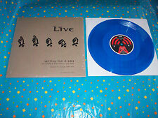 """LIVE-  Selling The Drama 10"""" Blue Vinyl EP  Advance For College Radio Only  NEW"""