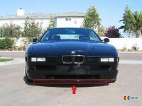 BMW 8 E31 M SPORT NEW GENUINE FRONT BUMPER LOWER RUBBER SPOILER 2252697