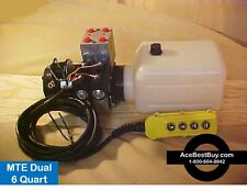 MTE 4 way hydraulic Pump pwr up/down WITH REMOTE, 12 volt  MechTool