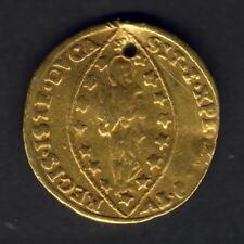 Italy - Venice. (1789-97) Gold Zecchino.. Lodovico Manin..  gVF/VF