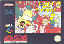 Super Nintendo SNES NES - The Simpsons - KRUSTY'S SUPER FUN HOUSE - TOP !!!