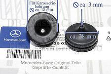 MERCEDES 2x Gummitülle Gummi Tuelle W120 W121 W123 W124 W126 W128 W186 W188 W198