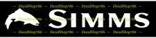 Simms Fishing -Trout II - Outdoor Sports - Vinyl Die-Cut Peel N' Stick Decal