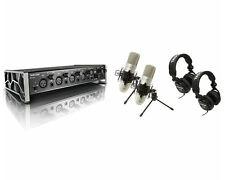 Tascam US-4X4 TP Trackpack Recording Package Audio Interface