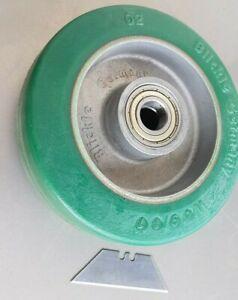 BLICKLE Aluminium Wheel Castor Replacement HD PU Tyre 125mm Caster German Made