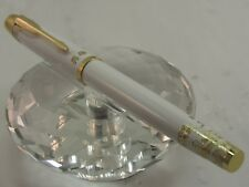 HIGH QUALITY HERO WHITE AND ETCHED GOLD ROLLER BALL PEN