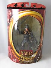 LOTR TT TWO TOWERS EOMER WITH SWORD ATTACK ACTION FIGURE LORD OF THE RINGS NRFB