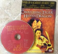 Crouching Tiger, Hidden Dragon Dvd (2001) *Disc Only*Excellent - Ships Tomor