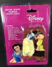 Rare Disney Snow White Talking Night Light Custom Phrases Dopey Bedroom Kitchen