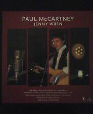 Paul McCartney - Jenny Wren -  Uk  Promo Flat  Poster Rare