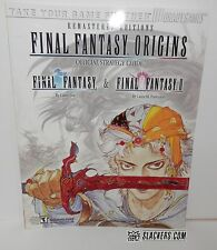Final Fantasy ORIGINS (I & II) Sony Playstation 1 NEW Strategy GuideBook PS1 PSX