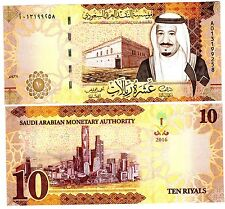 ARABIE SAOUDITE SAUDI ARABIA Billet 10 RIYALS 2016 NEW NOUVEAU R SELMAN NEUF UNC