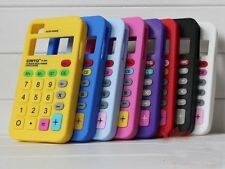 Calculator iPhone 4/4S Silicone Mobile Phone Case Novelty Design