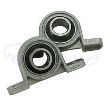 2X Zinc Alloy Diameter Bore Ball Bearing Pillow Block Mounted Support KP003 17mm