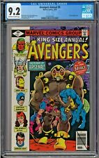 Avengers Annual #9 CGC 9.2 Arsenal app Bill Mantlo story