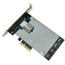 x4 PCIe to SATA 3.0 + B key NGFF(m.2) RAID Card HyperDuo SATA port multiplier