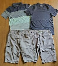 Lot of Cargo Shorts & Shirts Boys Youth Lg 16 URBAN PIPELINE & LEE  Lightweight