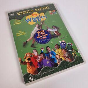 The Wiggles - Wiggly Safari - Never Played (DVD, 2005, Region 4) Steve Irwin