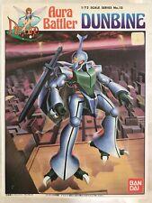 Aura Battler #13 Dunbine 1/72 Plastic Model Bandai (Super Rare & Vintage)