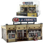 Woodland Scenics Built & Ready J. Frank's IGA Grocery Store HO Scale BR5050