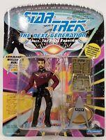 1992 Playmates Star Trek The Next Generation William T. Riker Action Figure