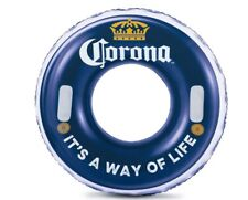 "Corona 31"" It's a Way of Life Inflatable Bottle Cap Swimming Pool Tube"