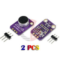 2PCS GY-MAX4466 Electret Microphone Mic Amplifier w/ Adjustable Gain for Arduino