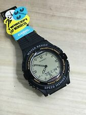 rare vintage casio AWX-10 TWINCEPT Watch 20 Lap Memory NOS NEW HTF