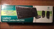 Logitech MKZ260 Wireless Keyboard, Mouse Combo & Logitech S-150 Speakers