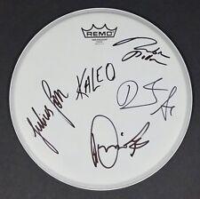 "KALEO BAND SIGNED REMO 12"" DRUMHEAD W/ COA JJ JULIUS SON A/B"