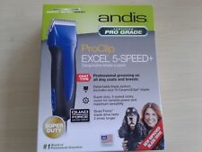 New Andis SMC Pro Clip Excel 5-Speed Animal Pet Dog Animal Clipper 65325
