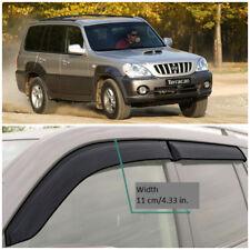 Wide Window Visors Side Sun Guard Vent Deflectors For Hyundai Terracan 2001-2007