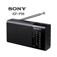 Sony ICF P36 FM/AM Compact Portable Radio Battery Operated