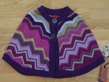 MISSONI for Target Girl's Knit Poncho Size S BNWT