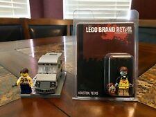 LEGO 2015 HOUSTON ZOMBIE MANAGERS CONFERENCE RARER THAN MR GOLD SDCC BONUS SET!