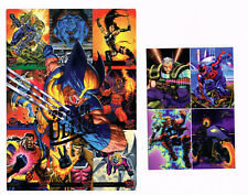 MARVEL COMICS PROMO CARDS LOT 1995 FLEER ULTRA & 1994 MARVEL UNIVERSE NM