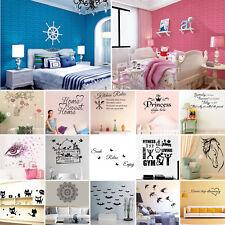 Amovible Sticker Mural Fleur Autocollant Décor Mur Muraux Chambre Salon