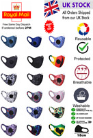 Face Mask Air Vent Adult Unisex Mouth Protection Cover Breathable Reusable