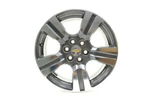 "NEW OEM GM 18""x8.5"" 5 Spoke Alloy Wheel Rim 23343591 Chevrolet Colorado 2015-19"