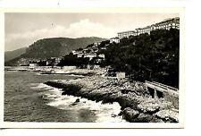 Shore View-Seaside Resort Town-Cap d'Ail-France-RPPC-Real Photo Vintage Postcard