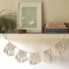 Wyld & Grace DIY Macrame Bunting/Garland Craft Making Kit. Level 1. Beginner