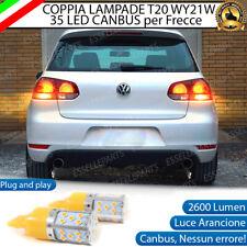 COPPIA LAMPADE WY21W CANBUS 35 LED FRECCE POSTERIORI VW GOLF 6 (FARI ALOGENI)