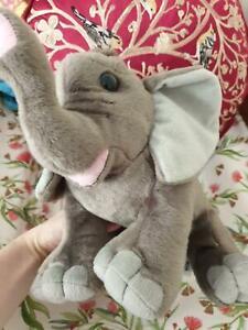 Wild republic cute plush elephant soft toy as new