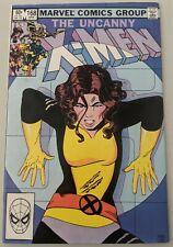 Uncanny X-Men 168 FN 1st Appearance of Madelyne Pryor 1983 Marvel Comics