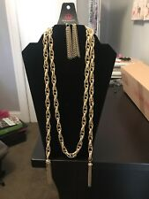 paparazzi jewelry gold rope  necklace