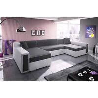 Living Room 4 Seater Corner Sofa Bed MILTON Large Modern Design High Quality