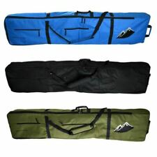 New Snowboard Bag Travel Wheelie Padded Bag 170cm Black Blue Khaki HIGH Quality